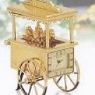 Bulova Flower Cart Miniature Clock - B0432