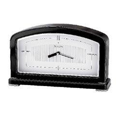 Bulova Aura contemporary black clock B7371