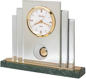 Bulova Tempest I Tabletop Clock B7877