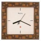 Bulova Four Square Wall Clock C3328