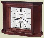 Bulova Altus Radio-Controlled Mantel Clock B1854