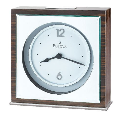 Bulova Vanguard Executive Table Clock B2571