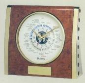 Bulova B2522 Keswick Maritime Clock