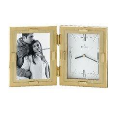 Bulova Esteem Solid Brass Picture Frame B1213