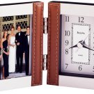 Bulova Turin Photo Frame Clock B1287