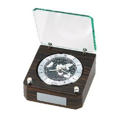 Bulova B2570 Allegra Executive Desk Clock
