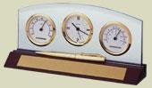 Bulova B2835 Weston Executive Clock With Pen