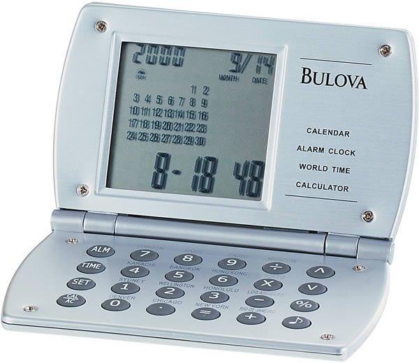 Bulova B6810 Excel Travel Clock
