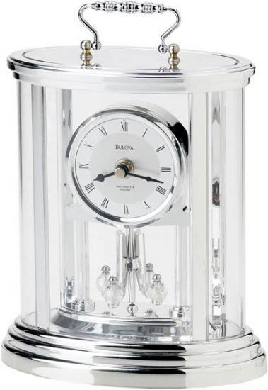 Bulova B8915 Amesbury II Tabletop Clock