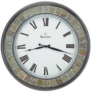 Bulova Rialto Large Clock C4103