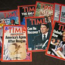 "1987 Time Magazine ""9 Issues"""