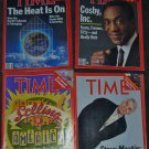 Lot of 4 1987 Time Magazine Issues