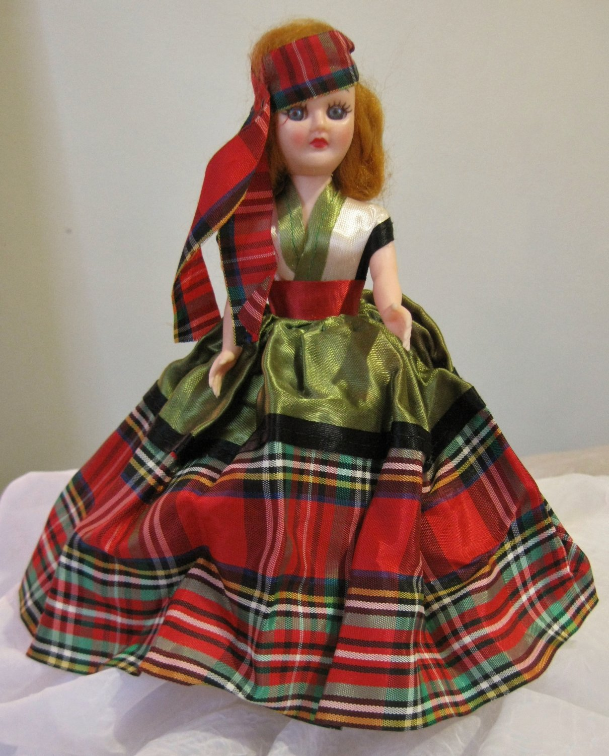 "Vintage 1960's dolls of the world doll ""Scotland"""