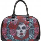 LADY MUERTE LARGE TRAVEL BAG by LUCKY 13