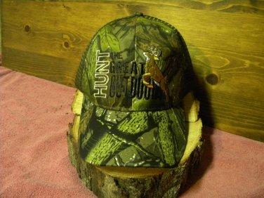Y&W headwear, Hunt The Great Outdoors, baseball cap