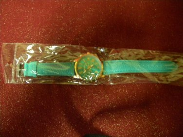 GENEVA, Ladies fashion watch, mint green, analog