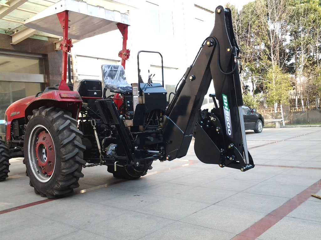 3 Point Hitch Backhoe Attachments : Point pto driven hydraulic backhoe excavator attachment