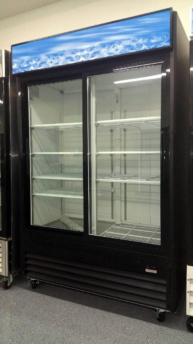 45 cubic foot double sliding glass door cooler reach in for 9 foot sliding glass door