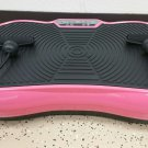 PINK Portable Ultra Thin Vibration Vibe Plate Machine w/ Arm Straps (Surfboard)