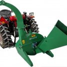 "4""x10"" PTO Tractor Wood Chipper Shredder BX42S GREEN 540-1000 RPM"