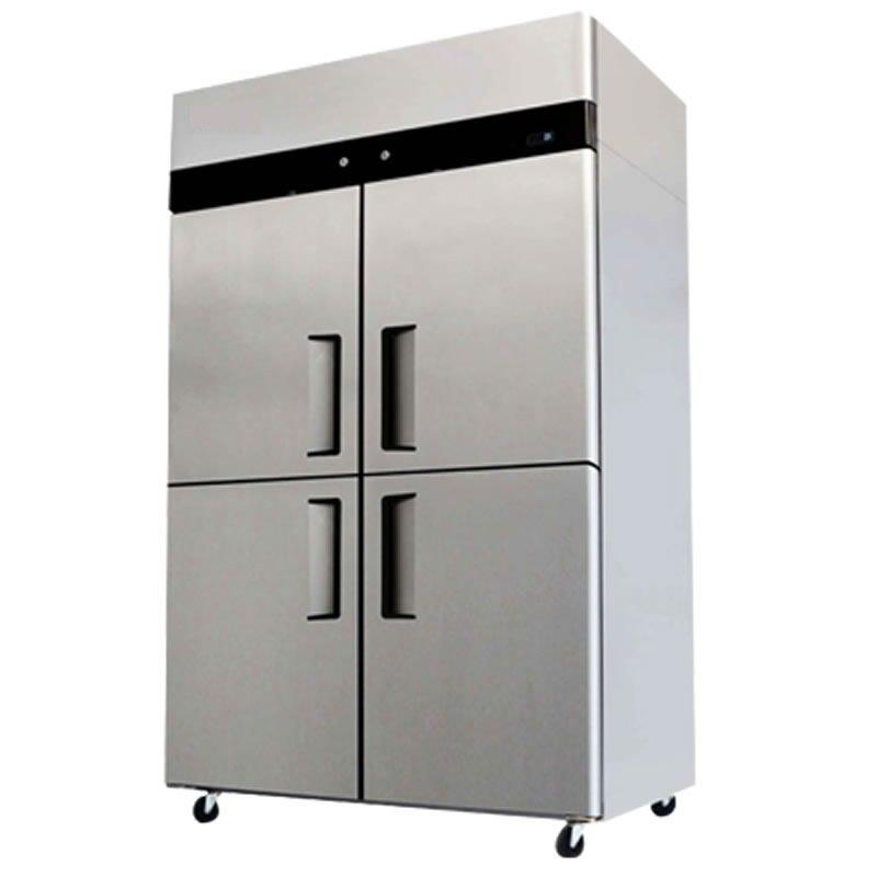 Commercial Refrigerator / Freezer Combo Stainless Steel 4 Door YBL9342 Cooler