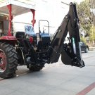 Large BH8600 Point PTO Driven Hydraulic Backhoe Excavator Attachment John Deere Skid Steer