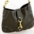 Coach Hobo Hamptons handbag signature embossed shoulder bag 11328