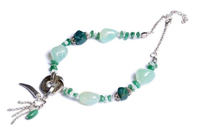 Green Aventurine Beaded Necklace