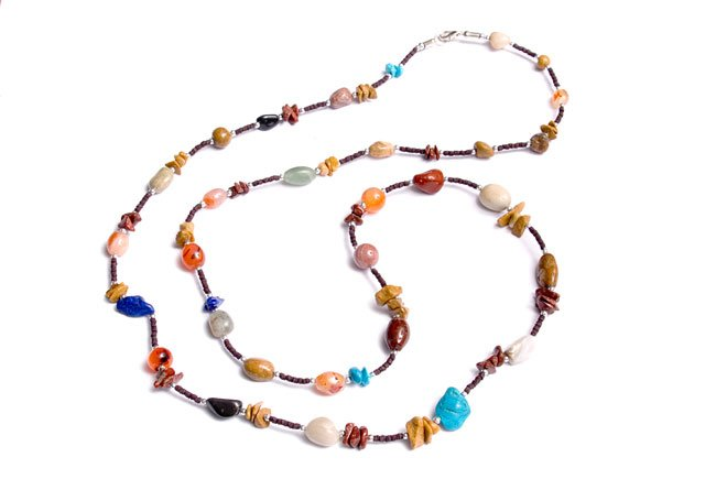 Beads & Stones Necklace