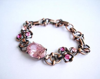 Imitation Amethyst Bracelet