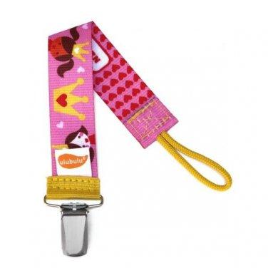 Princess Personalized Pacifier Clip - Girls, Princess