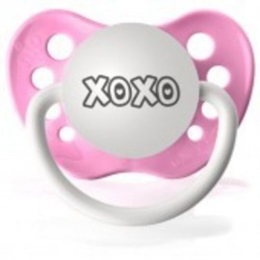 XoXo Pacifier - Pink, Girls