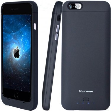 MFI certified iPhone 6 Plus Battery Case 4200mAh with Bonus MFI Lightning USB Cable