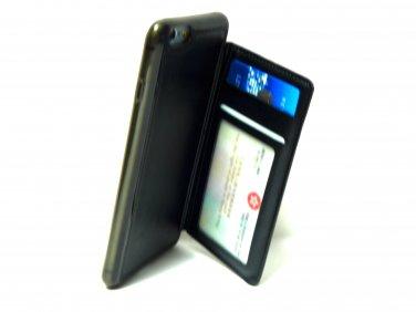 Advenplus Card Holder iPhone 6/6S plus Protection Case (Black)