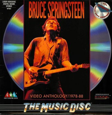 Bruce Springsteen Video Anthology 1978-88 LASERDISC NTSC