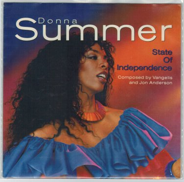 Donna Summer - State Of Independence 45 RPM Record + PICTURE SLEEVE