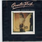 Quarterflash - Find Another Fool 45 RPM Record + PICTURE SLEEVE