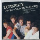 Loverboy - Jump 45 RPM Record + PICTURE SLEEVE Canadian Artist