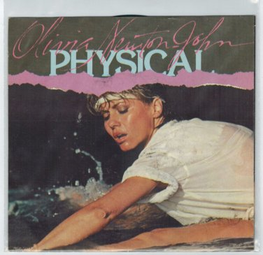 Olivia Newton-John - Physical 45 RPM RECORD + PICTURE SLEEVE