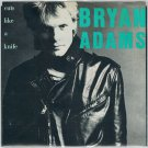 Bryan Adams - Cuts Like A Knife 45 RPM Record + PICTURE SLEEVE