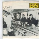 Men At Work - Overkill 45 RPM Record + PICTURE SLEEVE