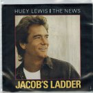 Huey Lewis & The News - Jacob's Ladder 45 RPM Record + PICTURE SLEEVE