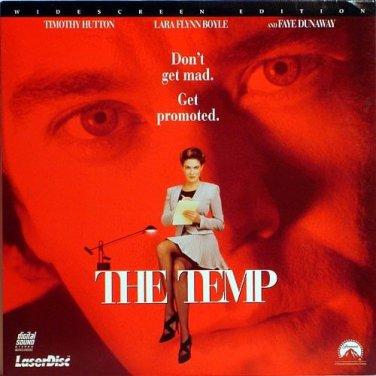 The Temp LASERDISC WIDESCREEN