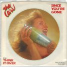 The Cars - Since You're Gone 45 RPM Record + PICTURE SLEEVE