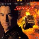 Speed LASERDISC Keanu Reeves Sandra Bullock