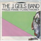 J. Geils Band - Freeze Frame 45 RPM Record + PICTURE SLEEVE