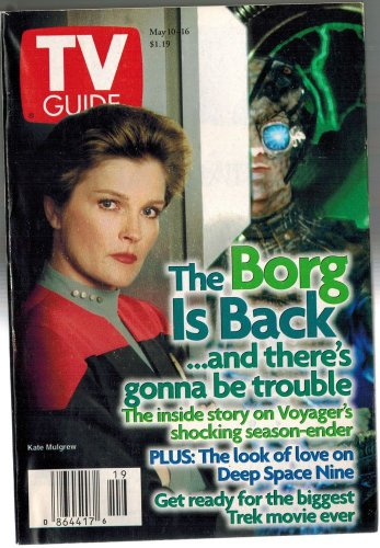 TV Guide Star Trek Kate Mulgrew 1997 May 10 - 16 NO LABEL LOS ANGELES EDITION