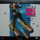 The Naked Gun 2 1/2 LASERDISC From the Files of Police Squad!  WIDESCREEN