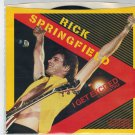 Rick Springfield - I Get Excited 45 RPM Record + PICTURE SLEEVE