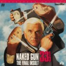 The Naked Gun 33 1/3 LASERDISC From the Files of Police Squad!  WIDESCREEN